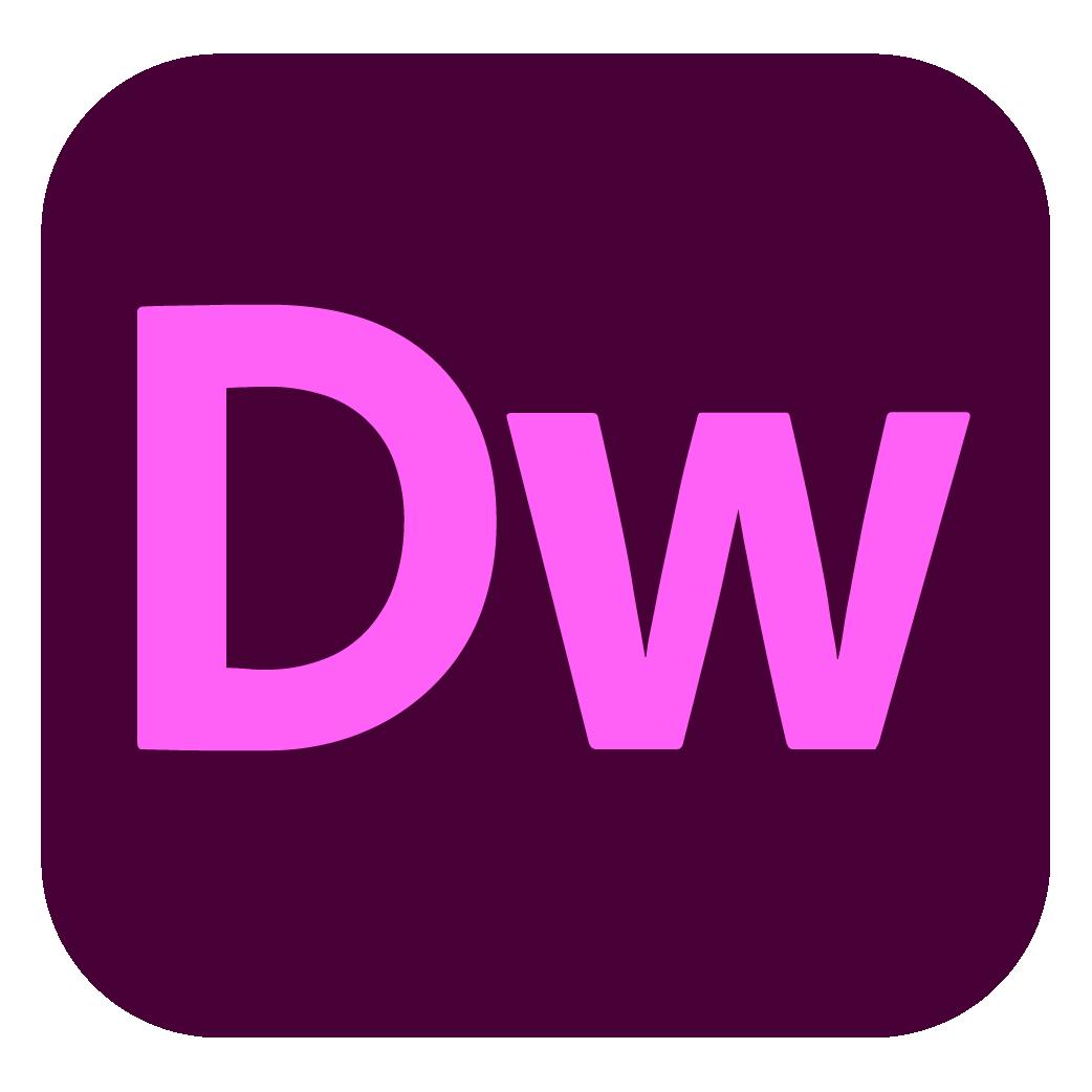 Adobe Dreamweaver Logo png