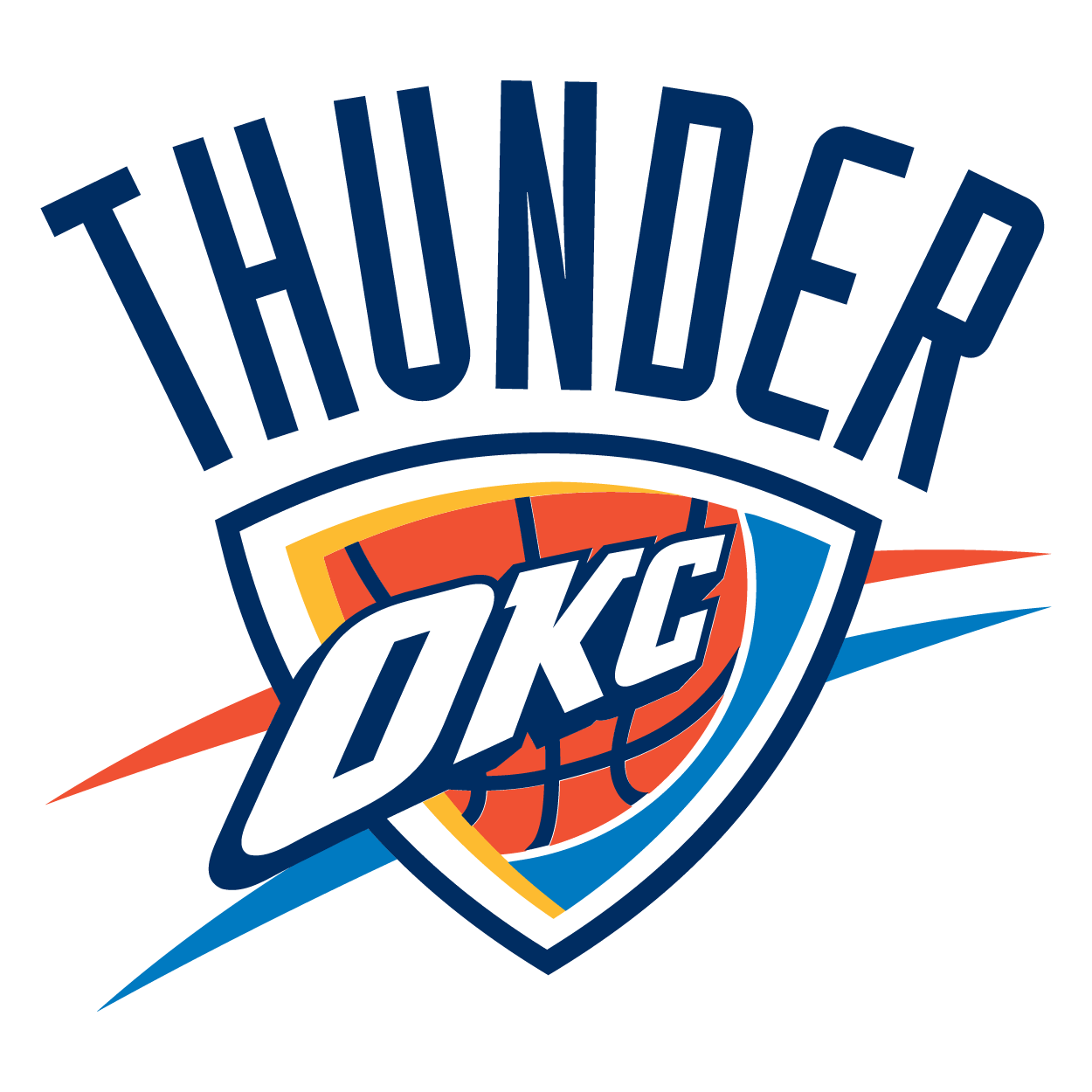 Oklahoma City Thunder Logo (NBA) png