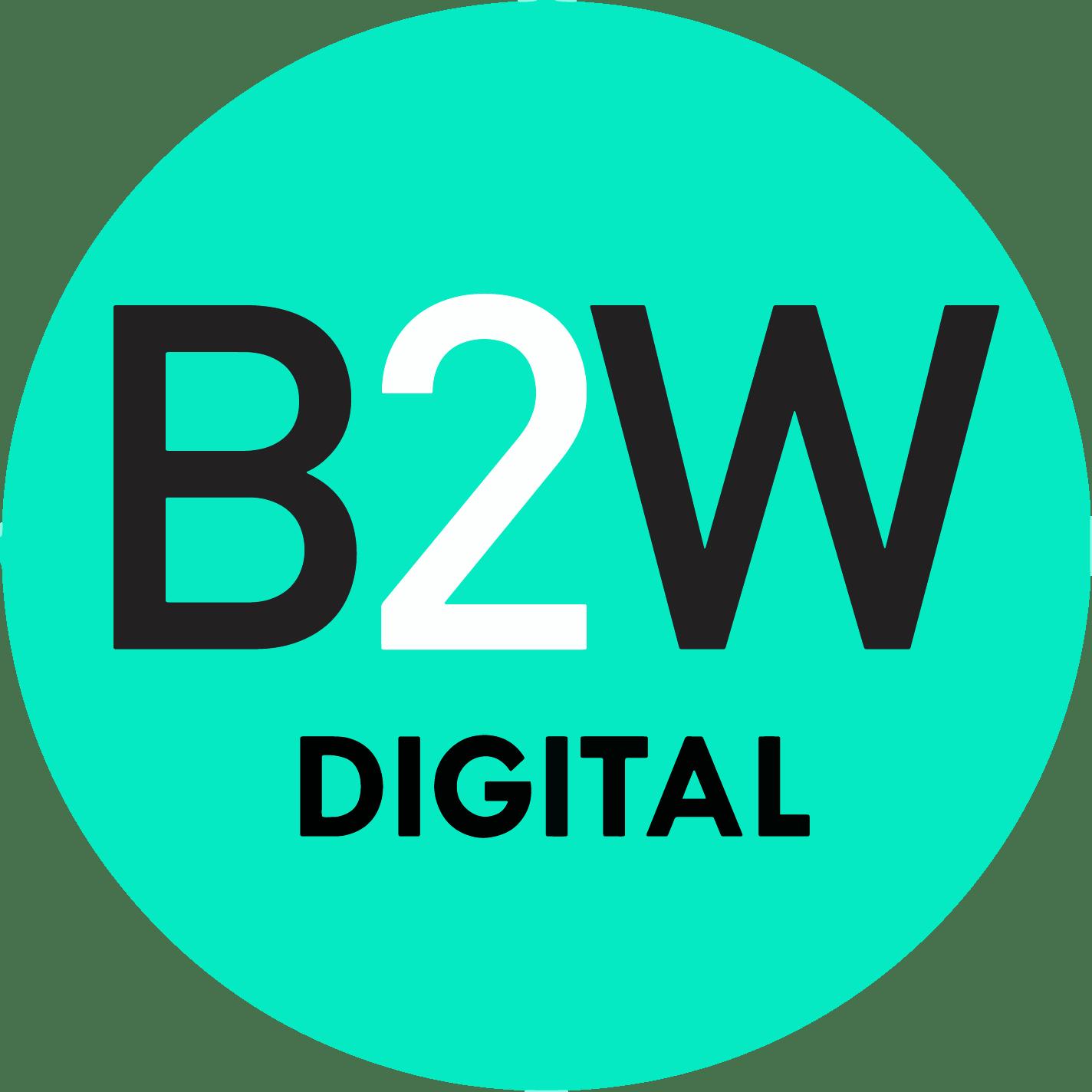B2W Logo png