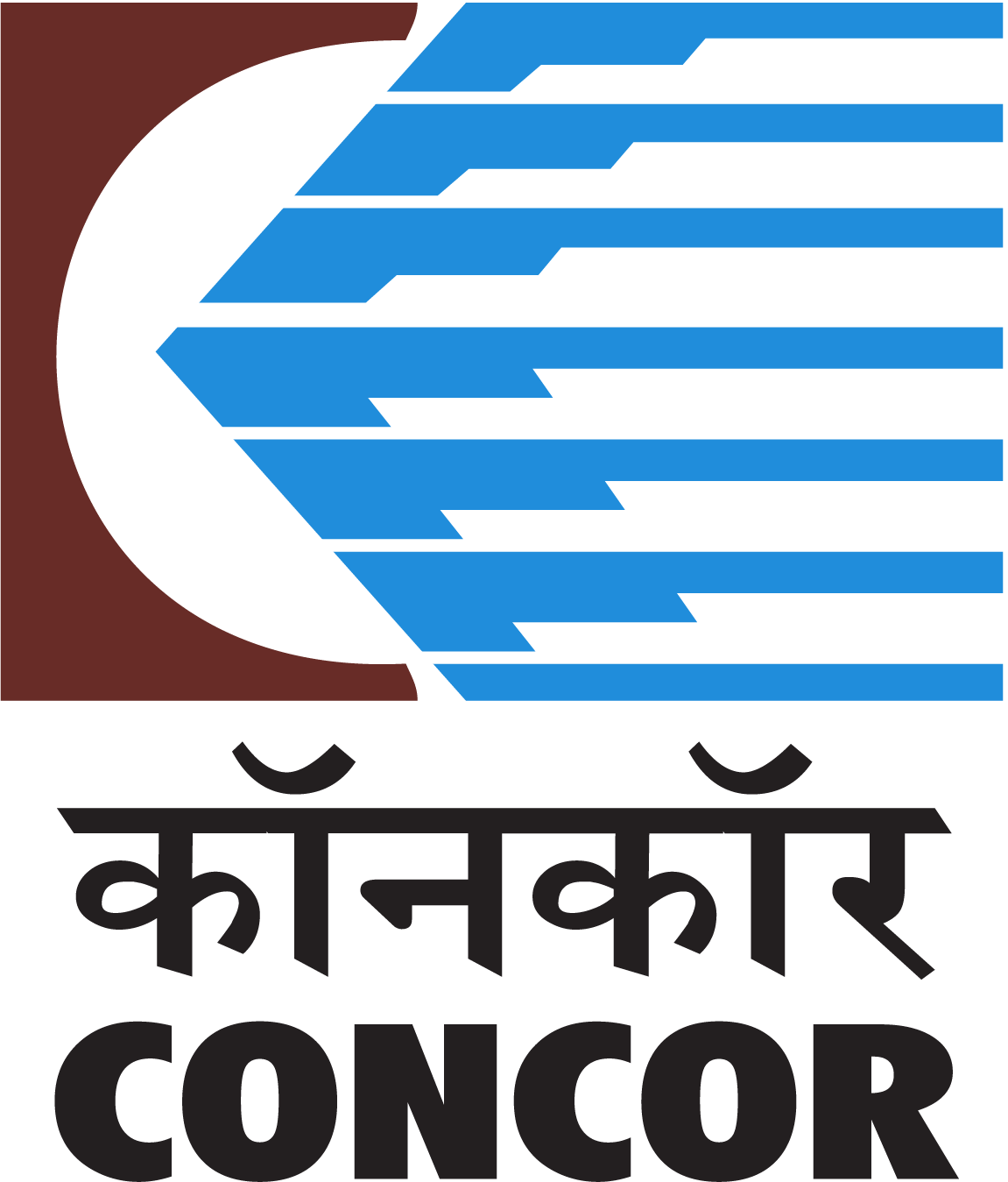 CONCOR Logo (Container Corporation of India) png