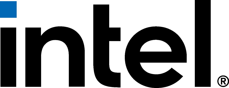 intel logo (new 2020) png