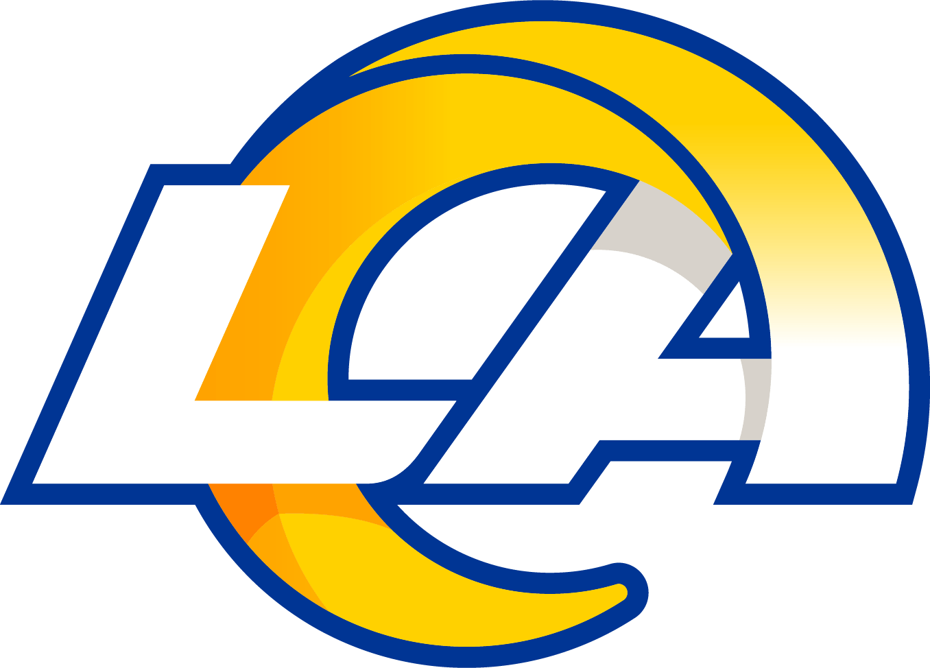 New Los Angeles Rams Logo png