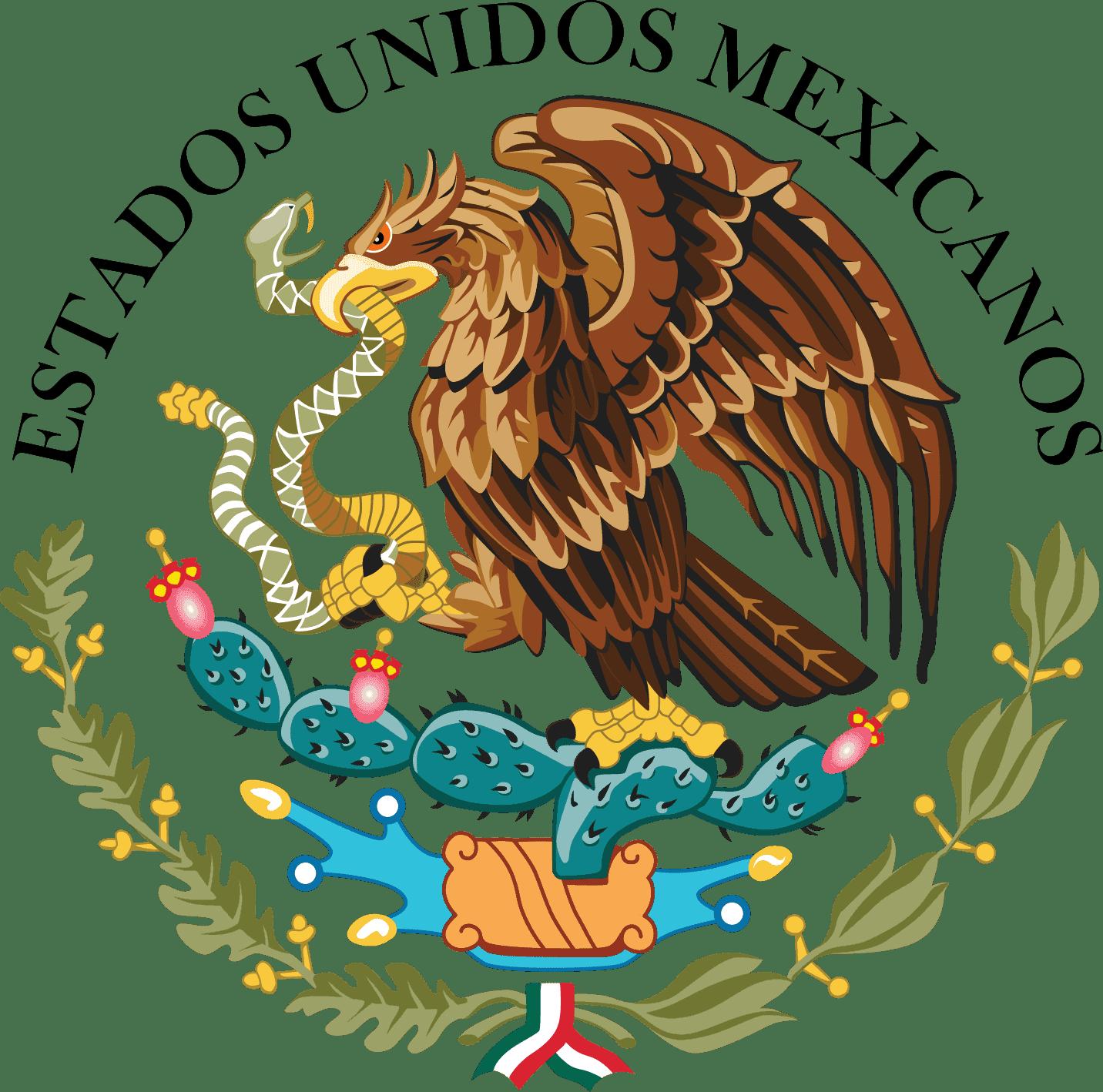 Escudo Nacional de Mexico png
