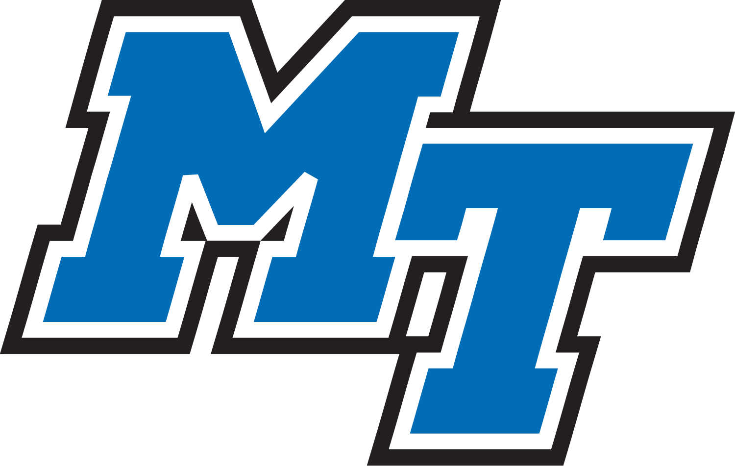 Middle Tennessee State University Logo (MTSU) png