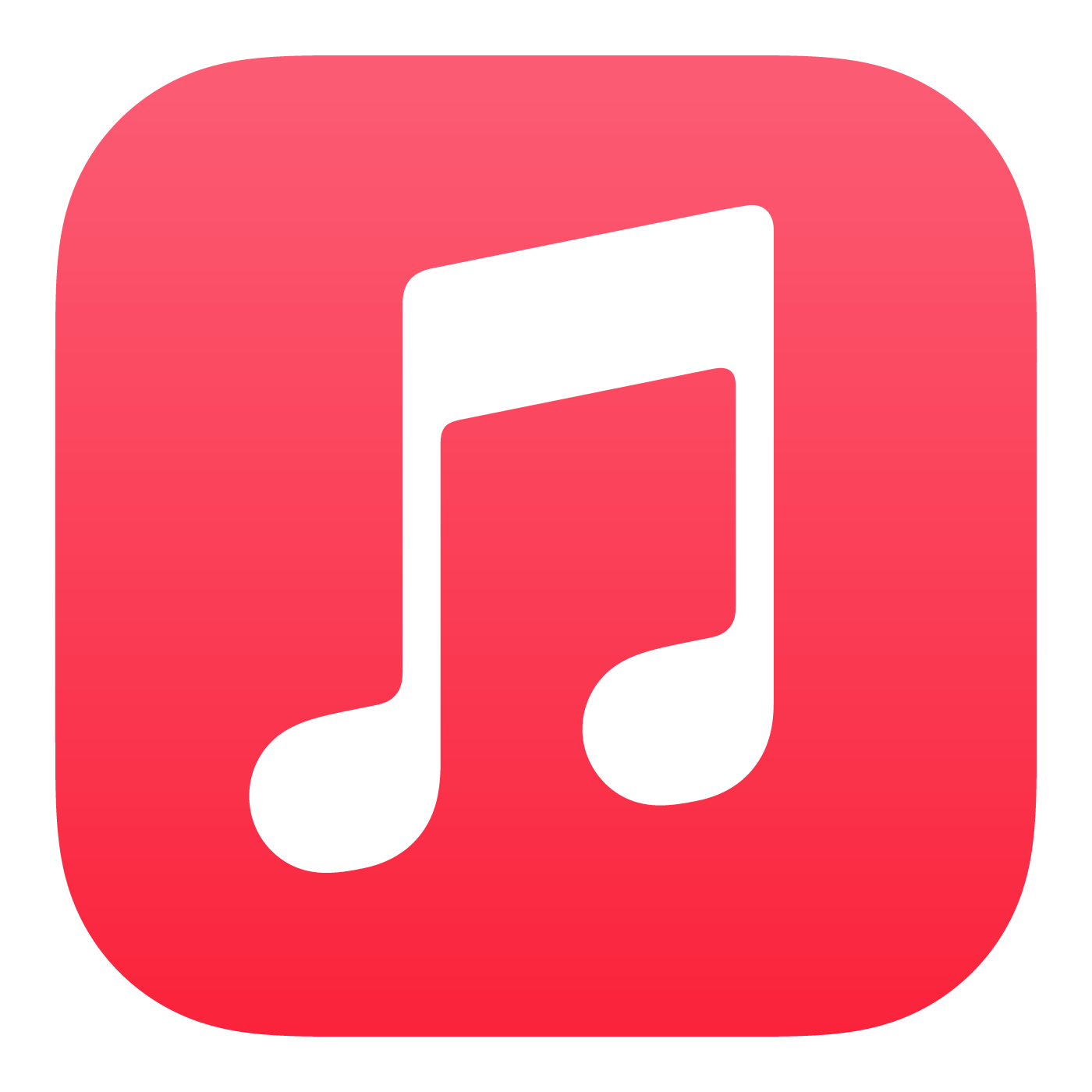 Apple Music Logo Download Vector