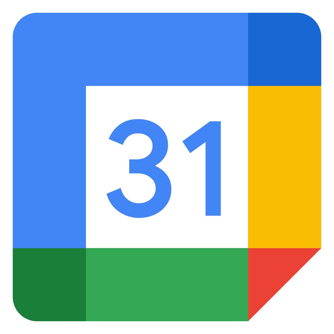 Google Calendar Logo png
