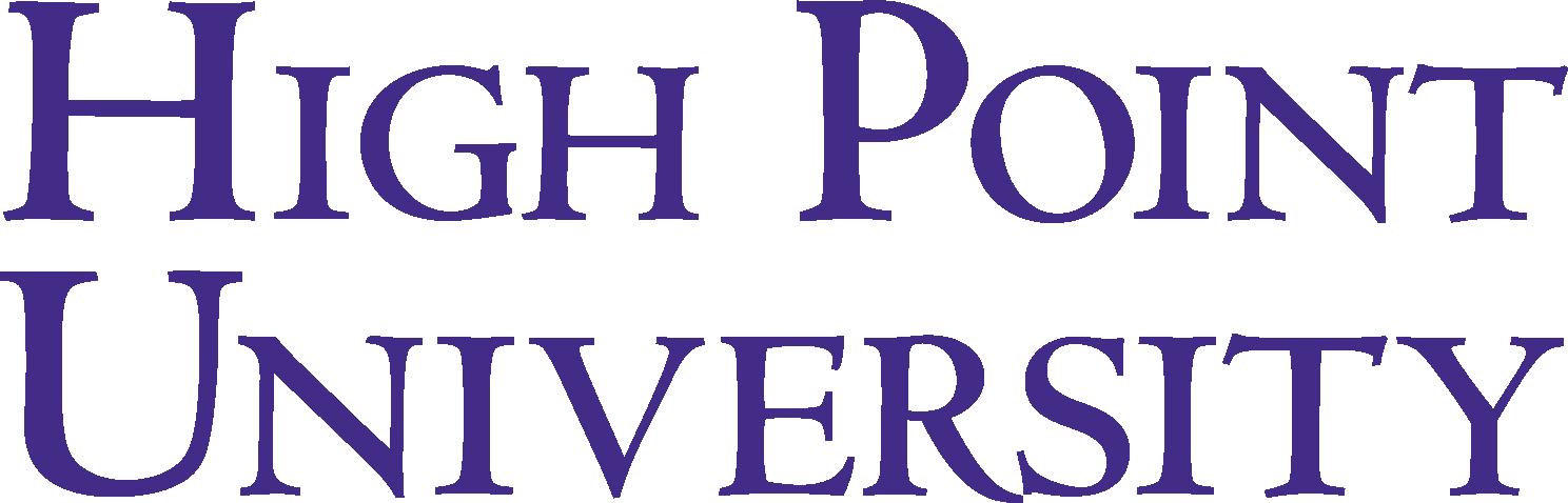 High Point University Logo png