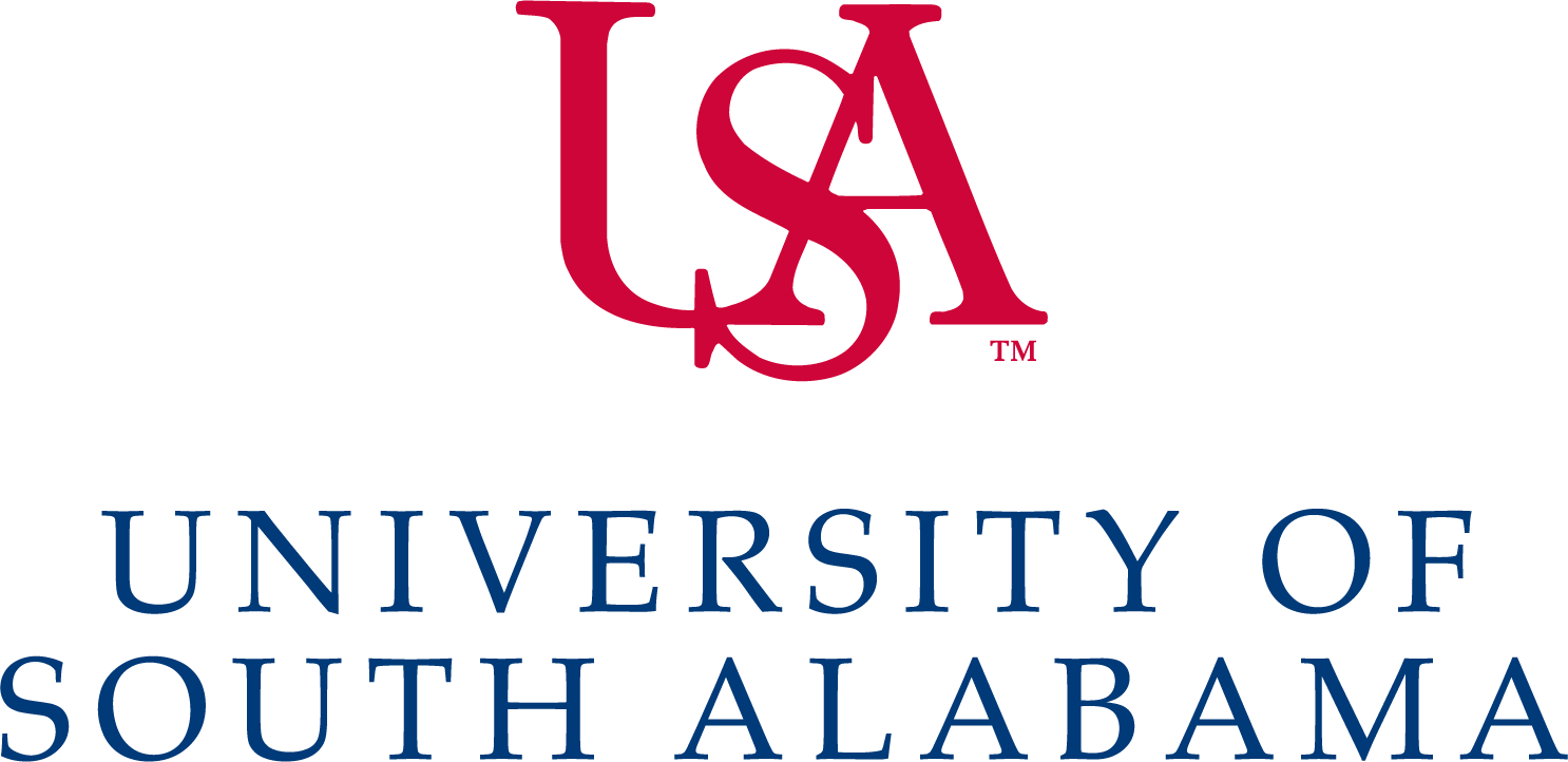 University of South Alabama Logo (USA) png