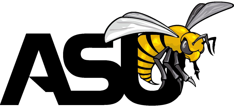 Alabama State Hornets Logo (Lady Hornets) png