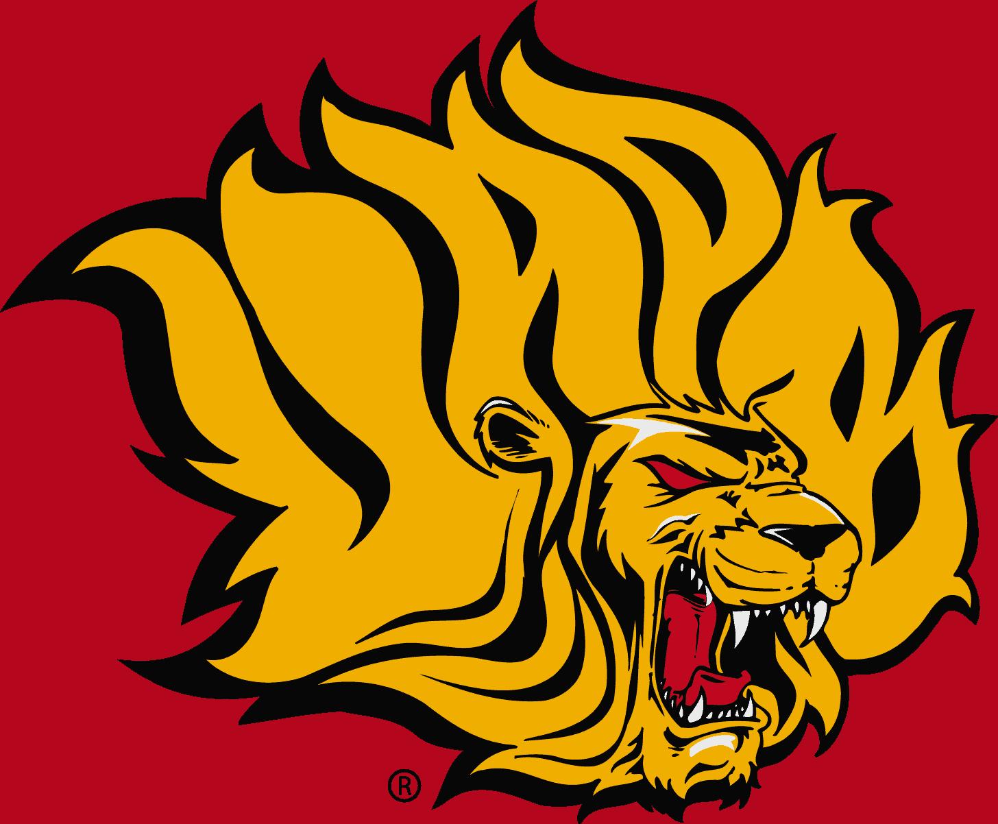 Arkansas Pine Bluff Golden Lions Logo (Golden Lady Lions) png