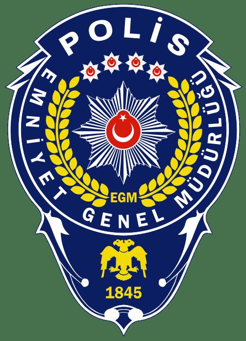 Emniyet Genel Müdürlüğü Logo (Polis) png