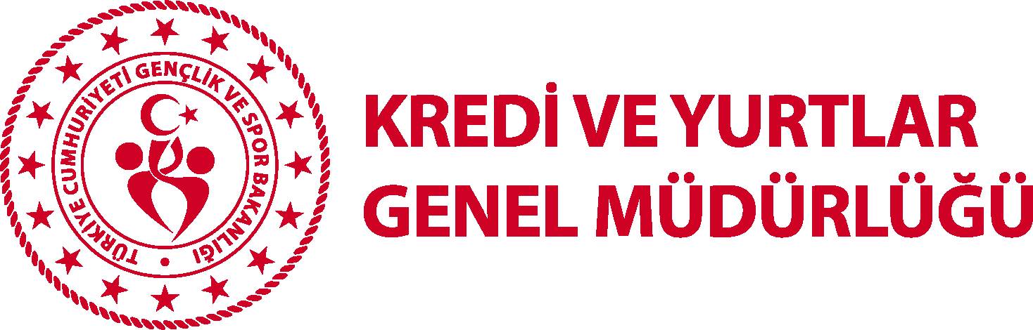 Kredi ve Yurtlar Genel Müdürlüğü Logo png