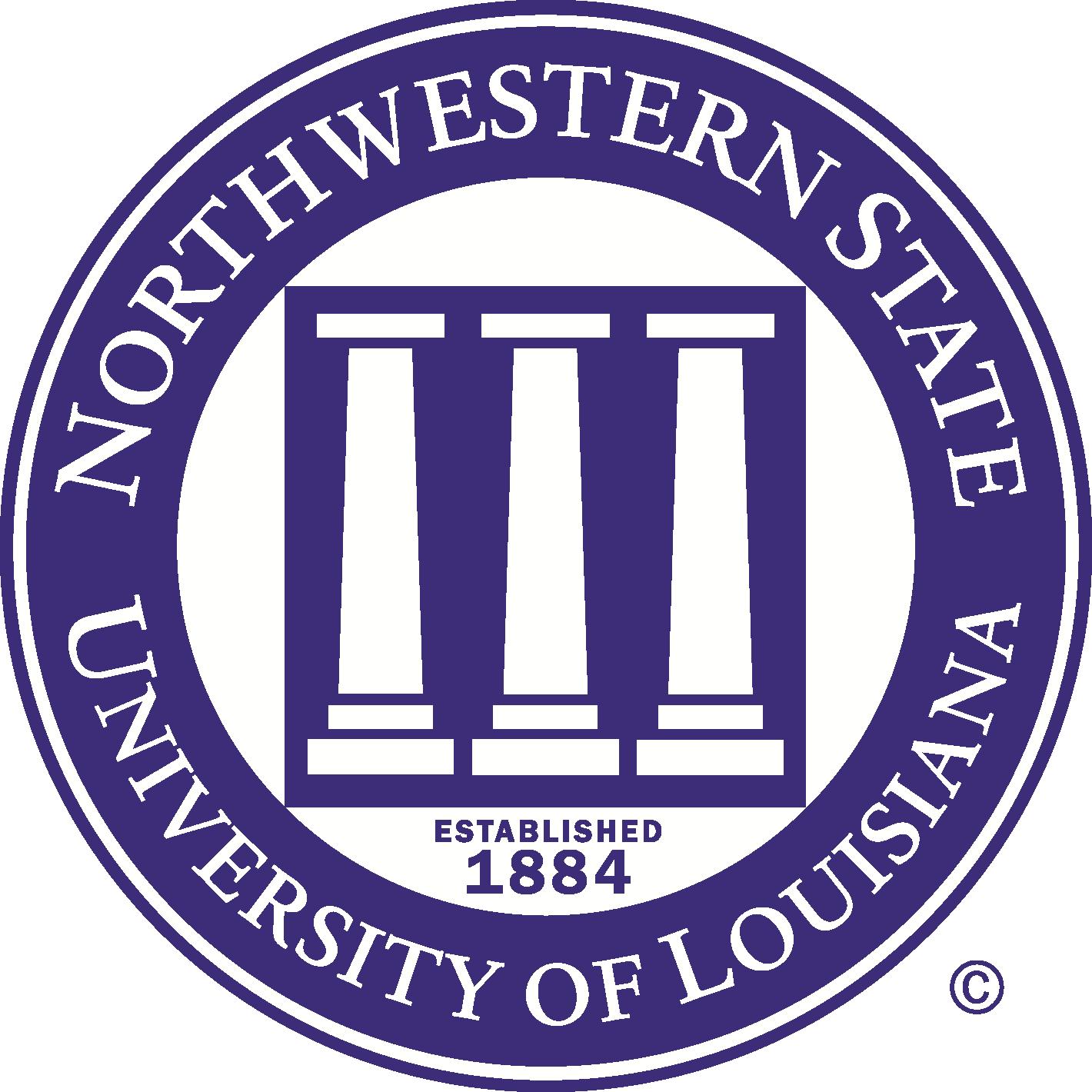 Northwestern State University Logo (NSU) png