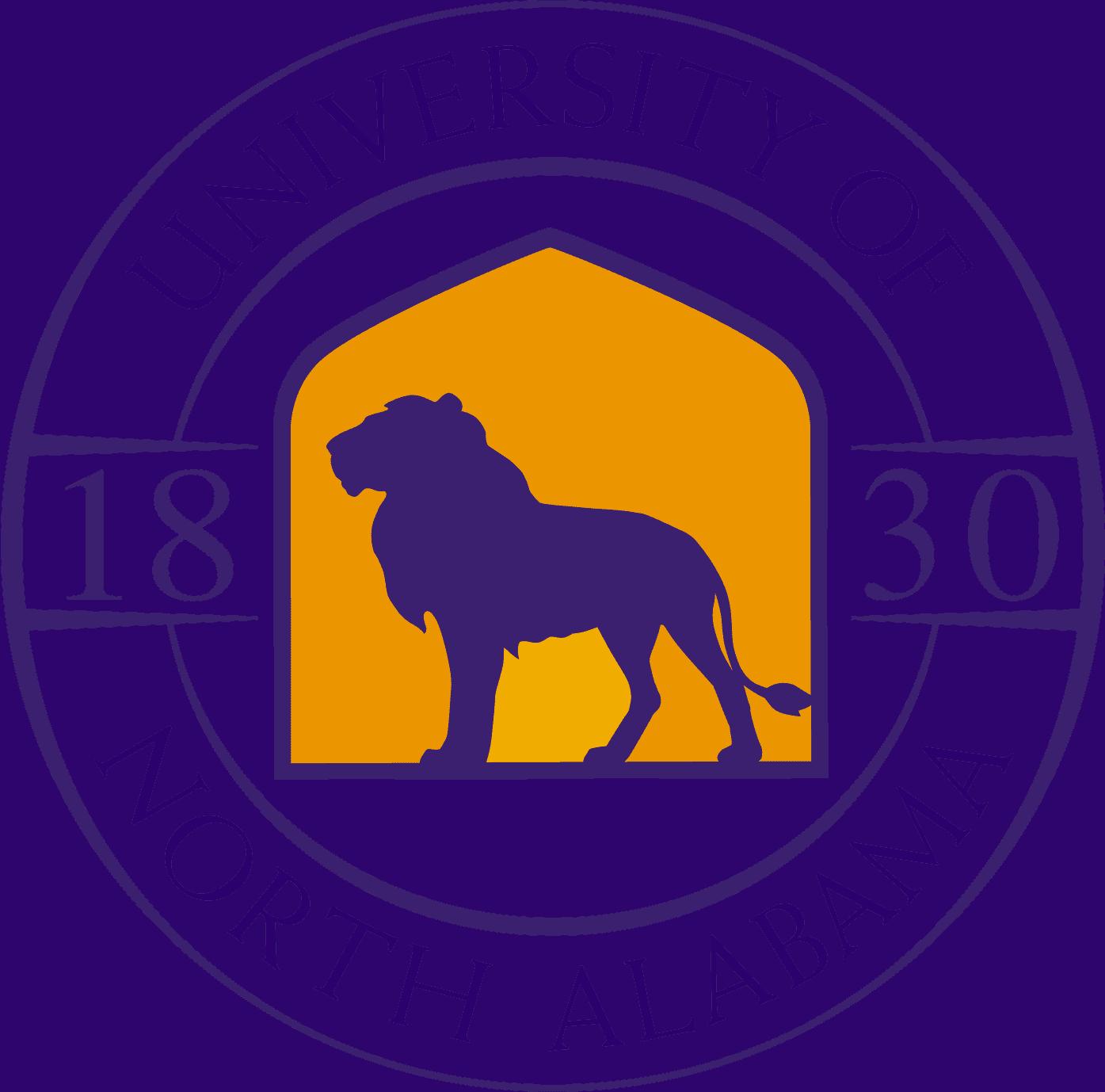 University of North Alabama Logo (UNA) png