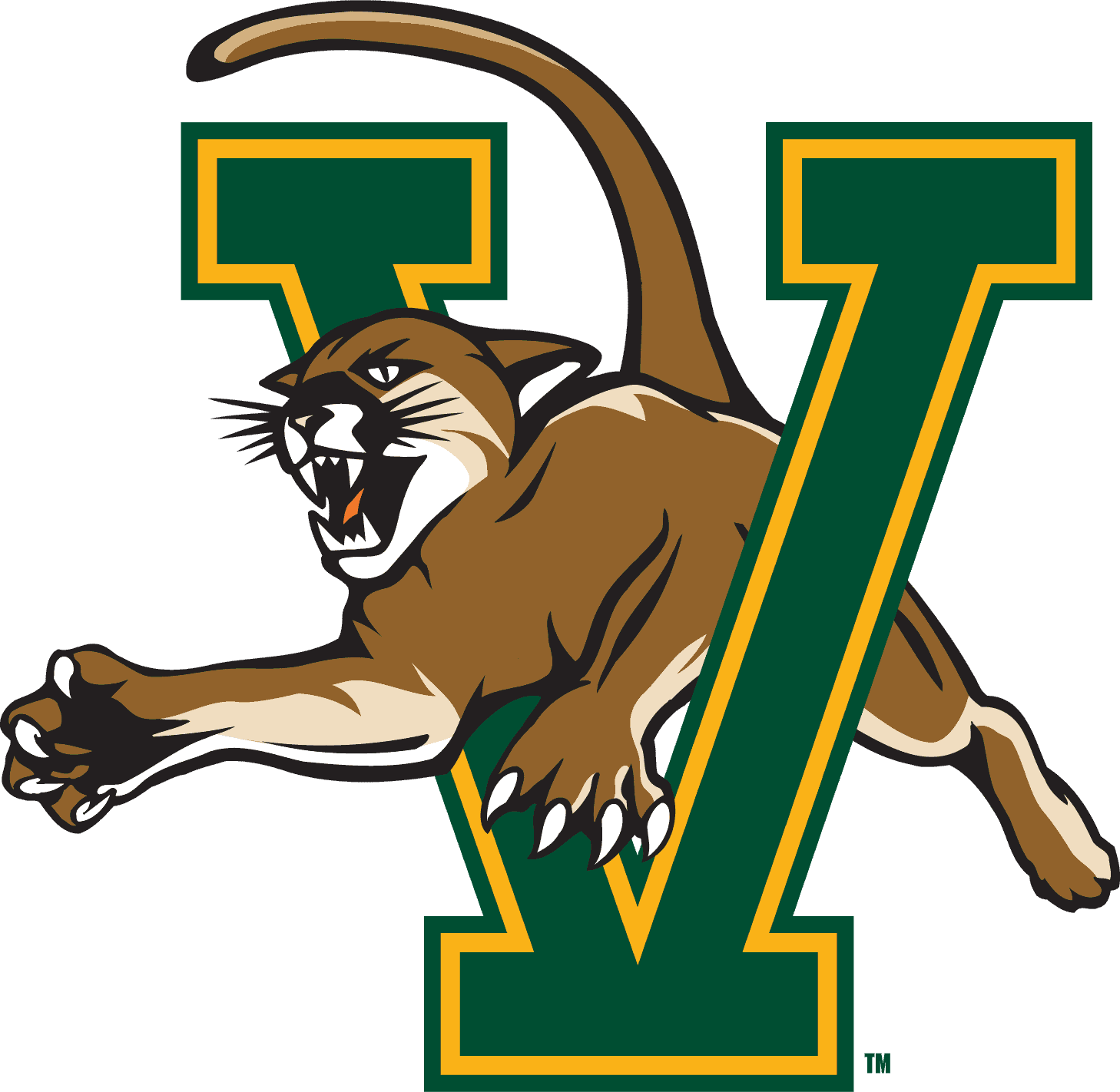 Vermont Catamounts Logo png