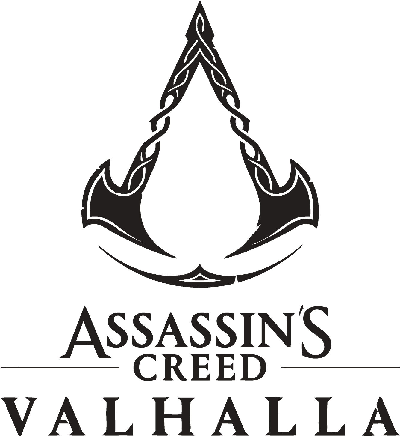 Assassins Creed Valhalla Logo png