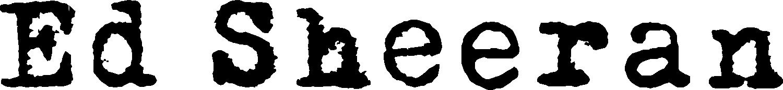 Ed Sheeran Logo png