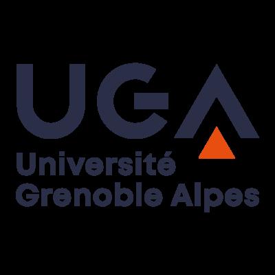 Grenoble Alpes University Logo (UGA) png