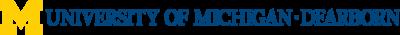 University of Michigan Dearborn Logo (UMD) png