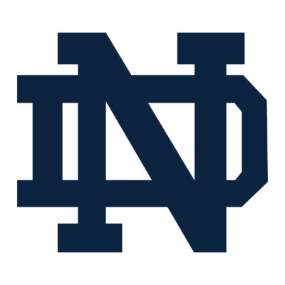 University of Notre Dame Logo (ND) png