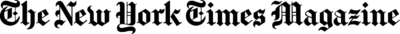 The New York Times Magazine Logo png