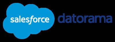 Datorama Logo (Salesforce) png