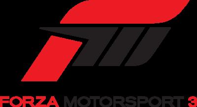 Forza Motorsport 3 Logo png