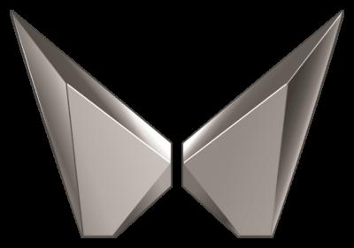 Mahindra SUVs Logo (Twin Peak) png