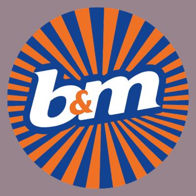 B&M Logo png