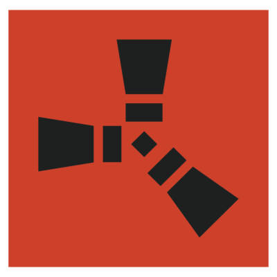 Rust Logo (video game) png