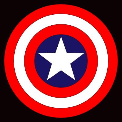 Captain America Logo [Shield] png