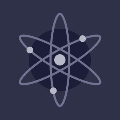 Cosmos Logo (ATOM) png