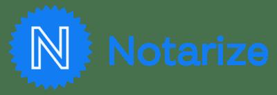 Notarize Logo png